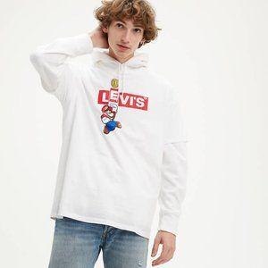 Levi's x Super Mario Men's Graphic Tee Shirt
